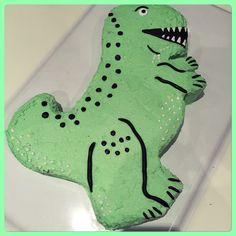 Dinosaurier Kuchen Dino-Party Geburtstag