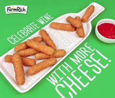 From frozen meatballs to mozzarella sticks, Farm Rich has the best snacks for quick meals and easy dinners. Find easy recipes, savings, party ideas and more! Farm Rich Mozzarella Sticks, Buffalo Chicken Bites, School Snacks For Kids, Types Of Cheese, How To Make Cheese, Appetizers For Party, Quick Meals, Meal Ideas, Kids Meals