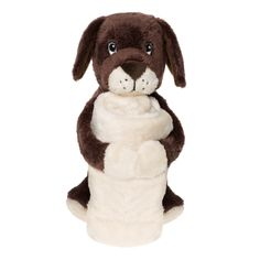 BoBo Blankets Dog Puppy Security Blankie Buddies Brown White Ivory Hug Plush Toy for sale online Pet Toys, Baby Toys, Toy Sale, Animal Design, New Friends, Dogs And Puppies, Giraffe, Plush, Teddy Bear