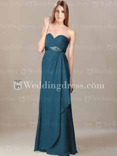 Discount Bridesmaid Dress_Teal