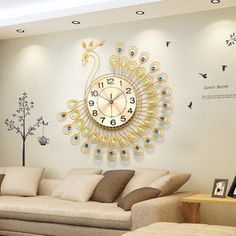 7 Clock Wall Designs Ideas ساعة حائط حائط ساعة