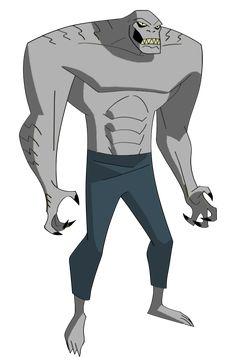 original TAS revamp Killer Croc by the--jacobian on DeviantArt General Zod, Batman 2, Killer Croc, Bruce Timm, Beast Boy, Dc Comics Art, Dc Characters, Character Description, Gotham