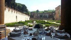 Villa Mondragone - Giardino all'Italiana #cateringmaan #cateringroma