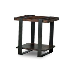 Klaussner Timber Forge End Table   from hayneedle.com
