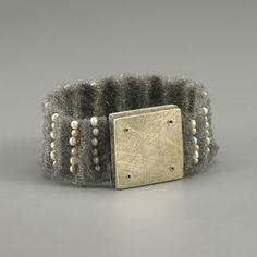 """Breaking the Waves"" – Artistic Jewellery Exhibition, Milano Gallery, Warsaw, 2000 #Bracelet"