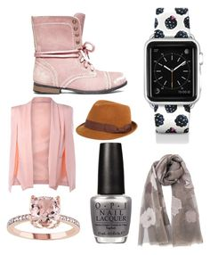 """""""Untitled #94"""" by najia17-2007 on Polyvore featuring Casetify, Steve Madden, FOUR BUTTONS and OPI"""
