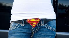 Superman!  GASP!  I need this belt!  I know someone who would totally love it!