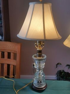 I love making these lamps for people