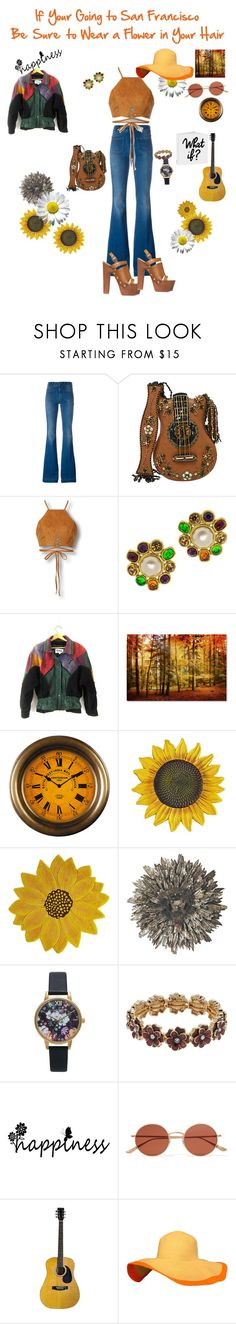 """""""Does Any Body Really Know What Time It Is??"""" by harts2raines ❤ liked on Polyvore featuring STELLA McCARTNEY, Mary Frances Accessories, Chanel, Pier 1 Imports, WALL, Topshop, Napier and Oliver Peoples"""