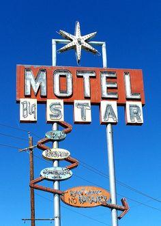 Big Star Motel Vintage Motel Sign
