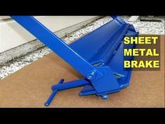 DIY Home Workshop Sheet Metal Brake (Bender) - YouTube Sheet Metal Brake, Home Workshop, Workshop Ideas, Metal Bending, Shipping Container Homes, Home Repairs, Wheelbarrow, Metal Working, Garden Tools