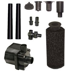 Beckett Corporation Pond Pump Kit with Prefilter and Nozzles 400 GPH *** Find out more about the great product at the image link.