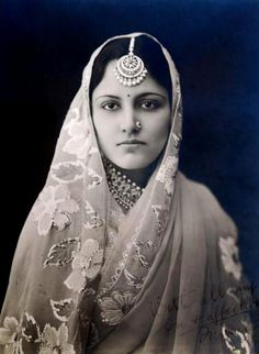 Maharani Narindar Kaur of Kapurthala aka Astella Alice Mudge (known as Stella), she was born into a modest British family in Carlton,Kent, on 13 October 1904 and married the Maharaja of Kapurthala to become the Marharani.