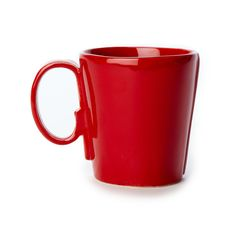 "Long lauded for creating one of the best shades of red in tabletop, we are thrilled to announce our newest red. Lastra""s iconic cheese mold shape meets the rich hue, and the result is extraordinary on this Lastra Red Mug. http://apps.agenne.com/ProductDisplay.cfm?id=580453&cid=377"