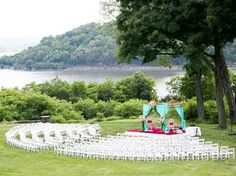 8 Out-of-the-Box Ceremony Seating Arrangements   TheKnot.com
