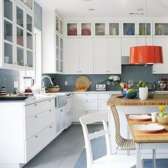 white cabinets 9ft ceiling - Google Search