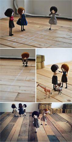 """handmade dolls exhibition"""