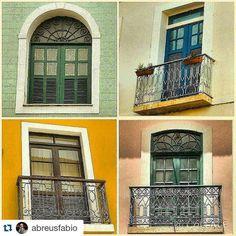 https://flic.kr/p/xLgknV | #windowseat on #saoluis  #Repost @abreusfabio with @repostapp ・・・ Belas Janelas de casarões  coloniais do Centro Histórico de São Luis. Beautiful windows of colonial mansions of the Historic Center of São Luís