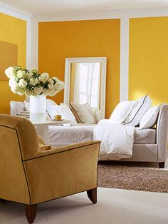 Refresh Your Space with Paint    Thinking of painting your home to update the space? Before painting the whole room, check out these 25 ideas for smaller projects that pack just as much style impact as a whole-room makeover, but without all the work.