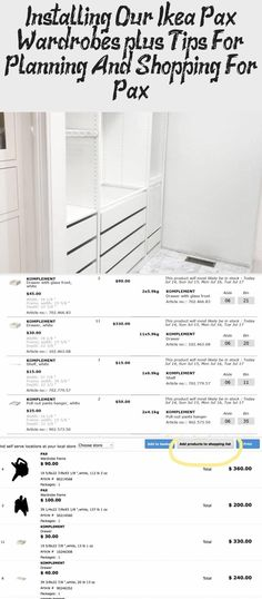 Installing our IKEA Pax Wardrobes (plus, Tips for Planning and Shopping for Pax! Glass Shelf Brackets, Glass Shelves In Bathroom, Floating Glass Shelves, Tempered Glass Shelves, Wardrobe Boxes, Ikea Pax Wardrobe, Bookshelves In Bedroom, Living Room Shelves, Dressing Table Glass
