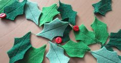 47 Excellent Ideas To Use Jingle Bells In Christmas Décor Ideas. 'Jingle Bells' is one of the best known Christmas songs in the world yet its history tells us that is not specifically a Christmas. Felt Garland, Diy Garland, Felt Ornaments, Hanukkah Crafts, Holiday Crafts, Holiday Ideas, Handmade Christmas, Christmas Crafts, Christmas Décor