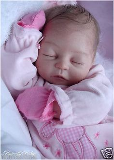 ART COLLECTIBLE~COA~REBORN BABY~DOLL KIT~KATELYN BY LORNA OURS~MIMADOLLS~LOW.RSV