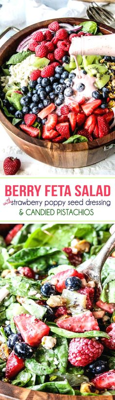 Berry Feta Spinach S...... New meal ideas