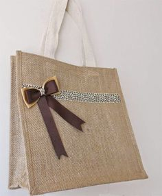 Craft Fairy Designs: #tutorial for A Jute Bag for the Tiger in You.