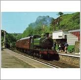 New Listing Started North Yorkshire Moors Railway Ivatt 0-6-OST ex GNR 1247 Postcard £0.55