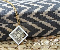 Gold amp white diamond locket www southhilldesigns com constancio www