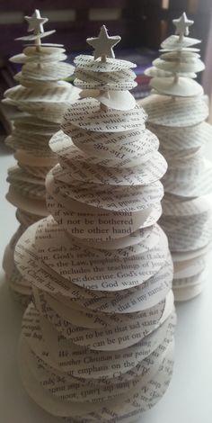 Paper Christmas Tree by KarolinaRoseCraft on Etsy