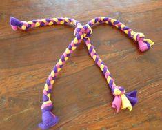 Brinquedo de tecido para cachorros - Faça você mesmo