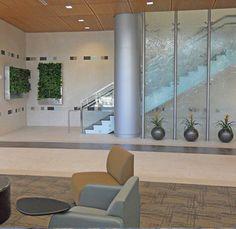 Green Walls at Baylor Cancer Center.
