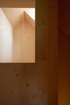 House in Balsthal is a timber house in northern Switzerland with rectangular and round windows. Completed in 2013 the home was designed by Pascal Flammer. Contemporary Architecture, Architecture Details, Interior Architecture, Interior Design, Modern Wooden House, Timber House, Swiss House, House And Home Magazine, Detached House