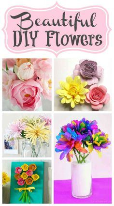 Beautiful DIY Flowers | The Mindful Shopper from @Amy Kelsch, Mindful Shopper Blog #DIYflowers #diy