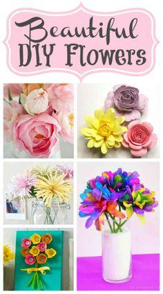 Beautiful DIY Flowers