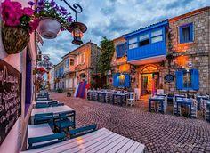 Foto Hamit Yalçın/ Alaçatı- Türkiye World's Most Beautiful, Beautiful Places In The World, Alacati Turkey, Visit Turkey, Areas Of Life, Istanbul Turkey, Study Abroad, Vacation Trips, Places To See