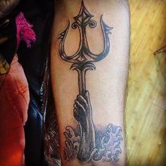 trident arm tattoo - Google Search