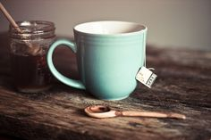 Come, let us have some tea and continue to talk about happy things by hannah * honey & jam