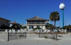Tybee Island Vacation Rental - VRBO 446649 - 3 BR Coastal Villa in GA, Ocean Front with Panoramic View - Great Patio, Step Directly to the S...