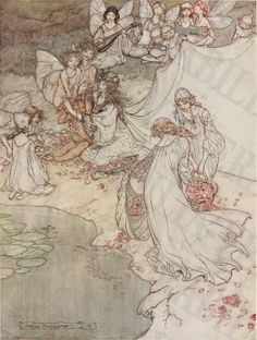 1908 Collection of 27 Arthur Rackham by LithograghLibrary on Etsy