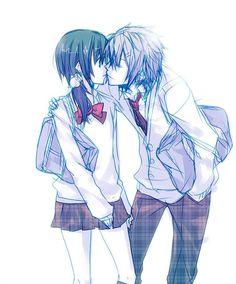 anime couple tumblr đen trắng - Tìm với Google