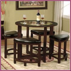 Shop a great selection of Roundhill Furniture Cylina Solid Wood Glass Top Round Counter Height Table 4 Stools. Find new offer and Similar products for Roundhill Furniture Cylina Solid Wood Glass Top Round Counter Height Table 4 Stools. Round Counter Height Table, Round Dining Set, Glass Top Dining Table, Kitchen Dining Sets, 5 Piece Dining Set, Dining Room Sets, Dining Room Table, Kitchen Tables, Kitchen Stools