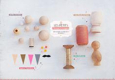 Kokeshi dolls diy and book | Flickr - Photo Sharing!