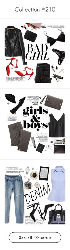 """""""Collection #210"""" by punnky ❤ liked on Polyvore featuring Wrap, Garance Doré, yoins, Vagabond, Bobbi Brown Cosmetics, Georg Jensen, Haute Hippie, 3.1 Phillip Lim, Larsson & Jennings and Current/Elliott"""