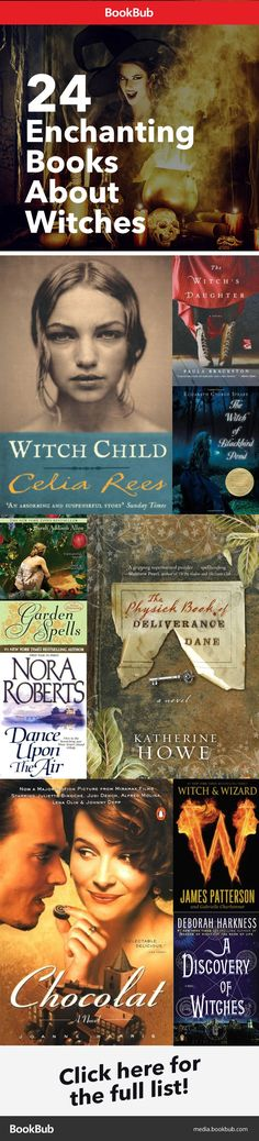 Sometimes enchanting, sometimes creepy, these are our favorite books worth reading about witches, perfect for Halloween.