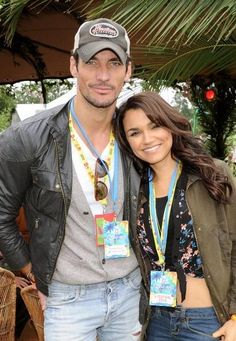 David Gandy Sam Barks VFestival foto: getty images Dave M. Benett