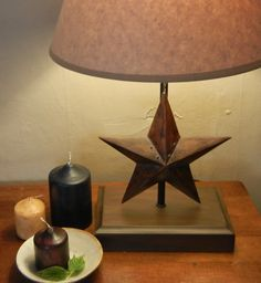 Country Star Lamp