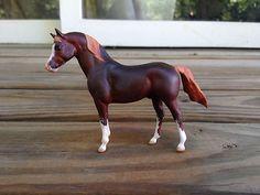 Breyer G1 Stablemate Arabian Stallion x S. JOHNSON Custom Model Horse - AWESOME!