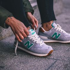 Sneakers femme - New Balance WL574  Pic by overkillwomen